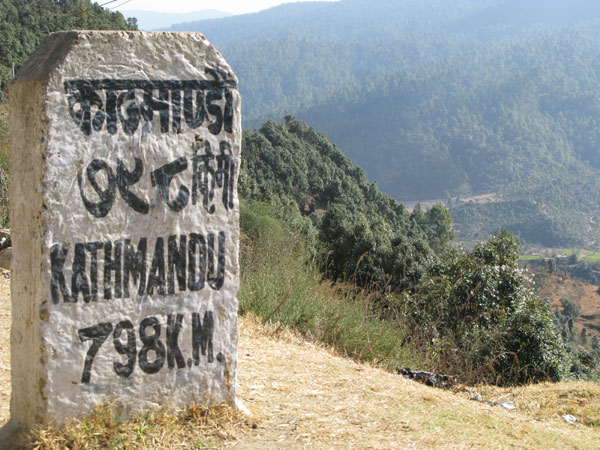 Dadeldhura: just about the farthest you can go by road from Kathmandu