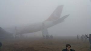 Turkish Airlines crash lands