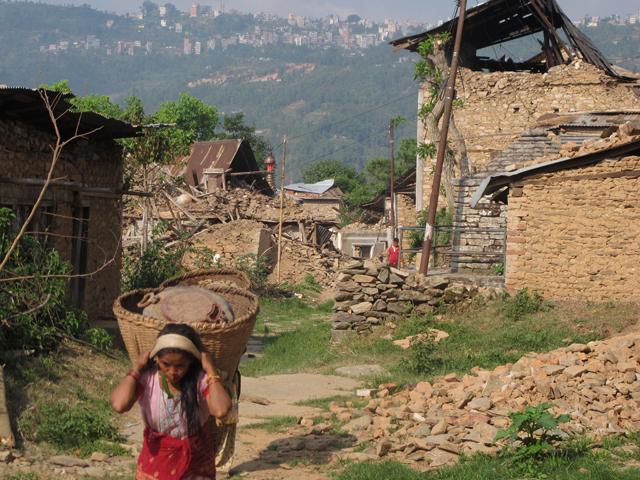 Dolakha after earthquake