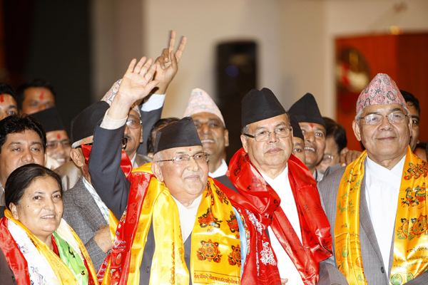 KP Sharma Oli appointed new Prime Minister