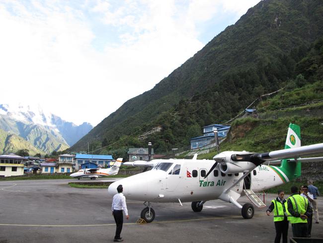 Tara Air in Lukla