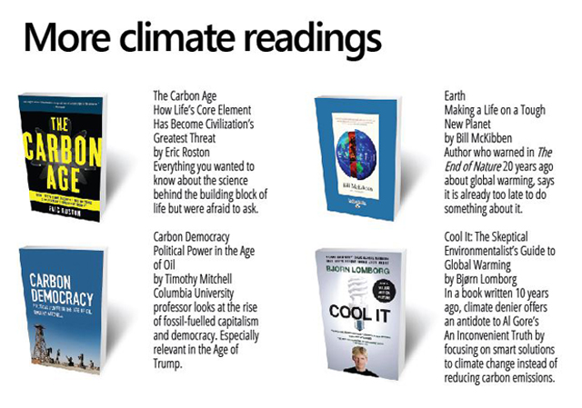 List of climate change books