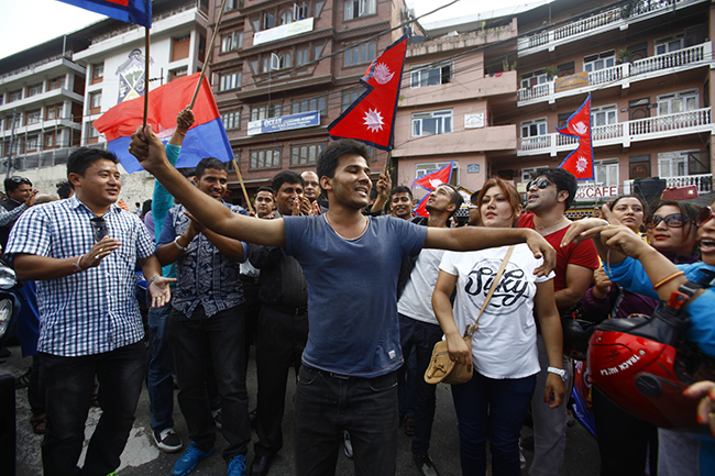New constitution Nepal