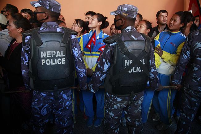 Nepal SAG football winners 1