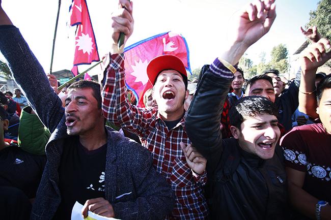 Nepal SAG football winners 2