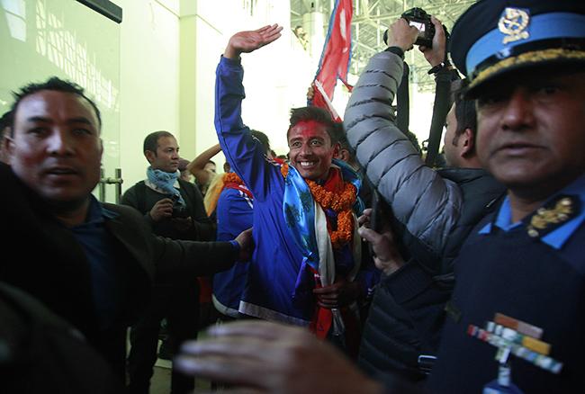 Nepal SAG football winners 4
