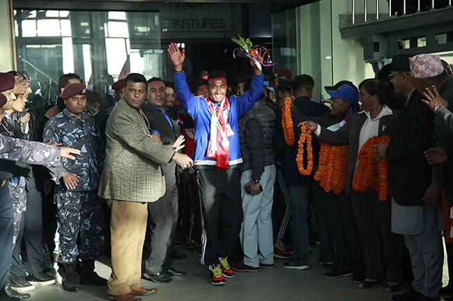 Nepal SAG football winners 5