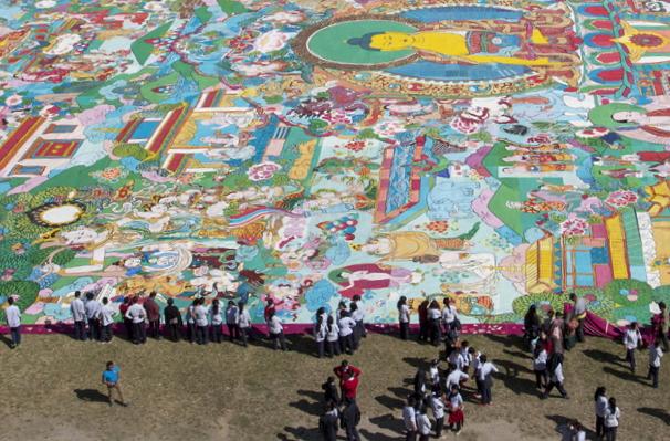 thangka-painting-at-dasarath-stadium
