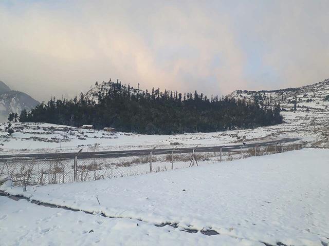 Snowfall Nepal