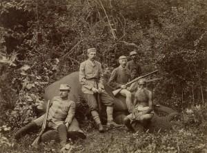 Franz Ferdinand hunting in Nepal