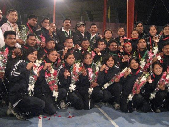 men's and womens kabadi team
