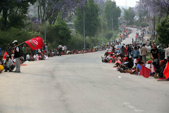 3rd day of Maoist Bandh 3
