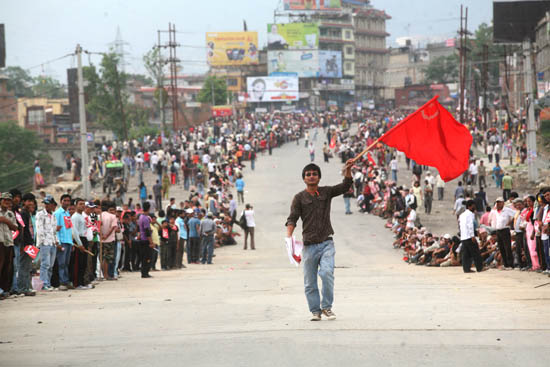 3rd day of Maoist Bandh 4