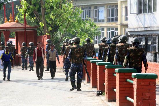 Maoist Strike, May 2010, Kathmandu, Nepal