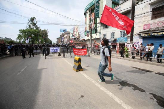 Maoist Strike, May 2010, Kathmandu Nepal