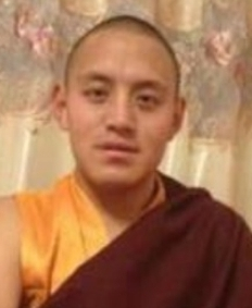 Tibetan monk edited