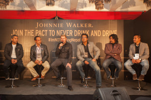Responsible drinking ambassadors from Nepal join two-time F1 World Champion Mika Häkkinen to advocate responsible drinking.
