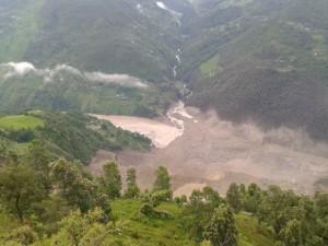 Bhote Koshi landslide 1