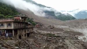 Bhote Koshi landslide 2