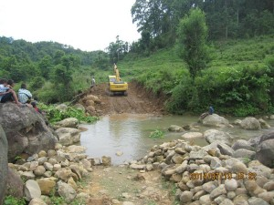 ROAD TO REMEMBER: The 6km road build by Dorji Tsering Sherpa and his SKY Memorial Foundation in memory of his daughter, Sarah,  and others killed in the Agni Air crash in Makwanpur exactly four years ago this week.