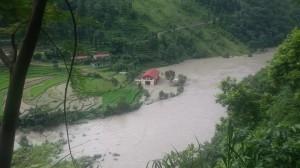 Bhote Koshi landslide 4