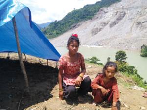 Victims of bhote koshi