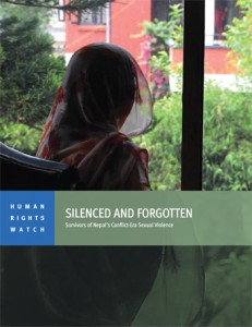 Silenced and forgotten: Survivors of Nepal's Conflict Era Sexual Violence