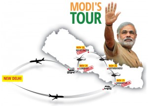 Narendra Modi's trip