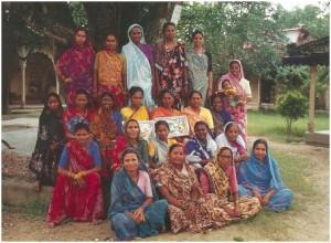 Members of the Janakpur Women's Development Centre (JWDC)