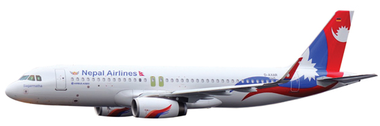 New Airbus 320-233SL Nepal Airlines