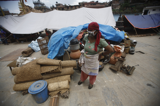 Bungamati earthquake