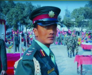 Captain Sabin Khadka, who went missing in Langtang after the earthquake on 25 April.