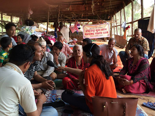All pics: BBC Nepali