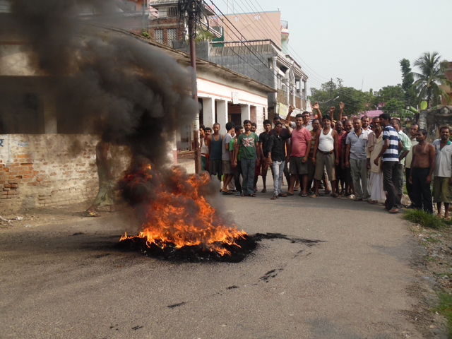 tarai unrest