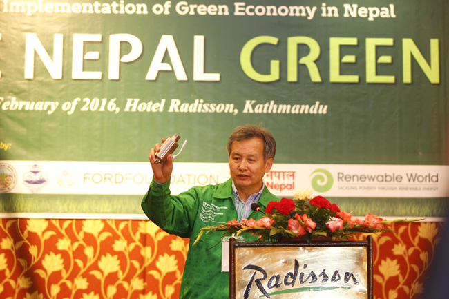 implementation of green economy