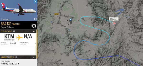 kabul radar