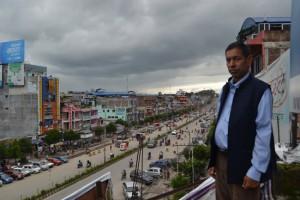 UML mayoral candidate Devi Prasad Gyawali