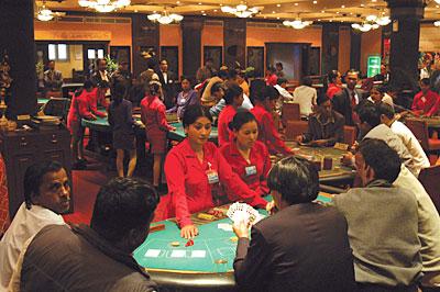 San manuel casino lounge