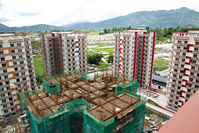Park View Horizon Apartment Varun Developers One Of The First High Rise Apartments In Nepal Is Dhapasi S Has 212
