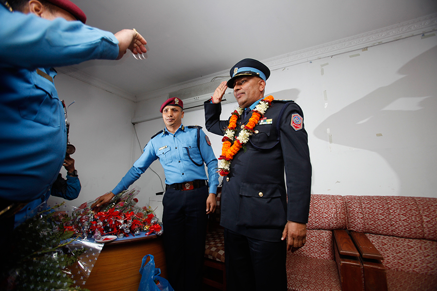 https://archive.nepalitimes.com/assets/uploads/gallery/dd712-9d1cf-Prakash-Aryal-appointed-new-IGP-at-Home-Ministry-in-Singhadurbar.jpg